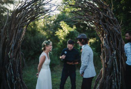 Lauren & Justin, Salem, NJ: Boho Romance